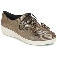 FitFlop CLASSIC TASSEL SUPEROXFORD LIZARD PRINT Brown / White
