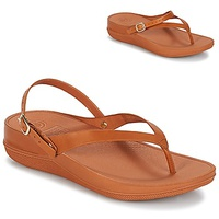 FitFlop FLIP LEATHER SANDALS Caramel
