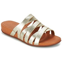 FitFlop LUMY LEATHER SLIDE Gold