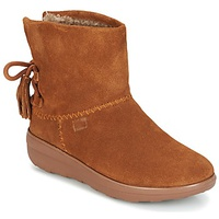 FitFlop MUKLUK SHORTY II BOOTS WITH TASSELS Chestnut