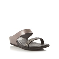 FitFlop Sparklie Crystal Slide Sandals