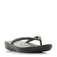 FitFlop Lqushion Wedge Flip Flops