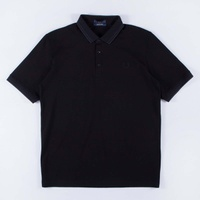 Fred Perry Made In Japan Pique Shirt Black