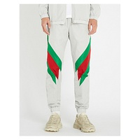 GUCCI Colour-blocked shell jogging bottoms