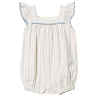 Gap Ivory Frost Embroidered Babygrow