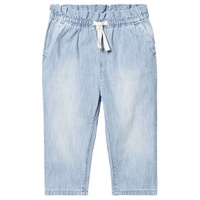 Gap Blue Drawstring Waist Jeans