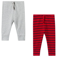 Gap Pack of 2 Pure Red Stripe Pants