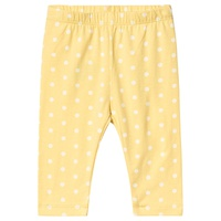 Gap Yellow Shimmer Print Leggings