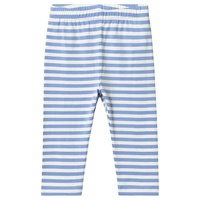 Gap Blue Stripped Leggings