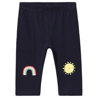 Navy Uniform Gap Rainbow Leggings
