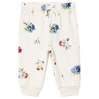 Gap Ivory Floral Sweatpants