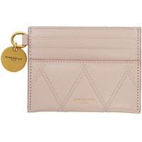 Pink Quilted Charm Card Holder