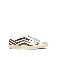 Golden Goose Deluxe Brand Super Star zigzag leather trainers
