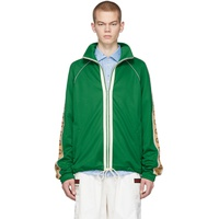 Green Oversized Technical Jacket