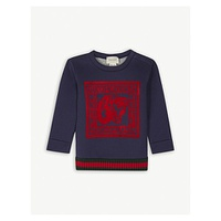 GUCCI Guccification cotton sweatshirt 6-36 months