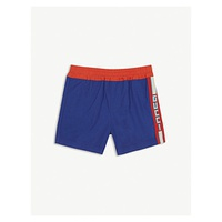 GUCCI Web striped cotton shorts 6-36 months