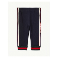 GUCCI Logo tape jogging bottoms 9-36 months