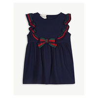 GUCCI Ruffle collar dress 6-36 months