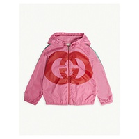 GUCCI GG logo windbreaker hooded jacket 9-36 months