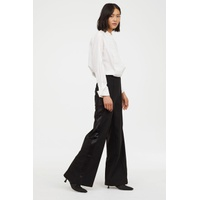 H&M Wide wool-blend trousers