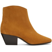 Tan Dacken Ankle Boots