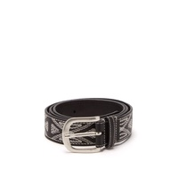 Isabel Marant Tetyh embroidered leather belt