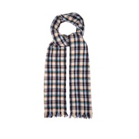 Isabel Marant Isidore checked wool-blend scarf