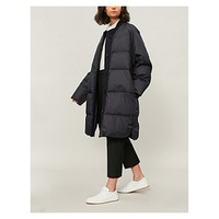 JIL SANDER Quilted shell puffer jacket