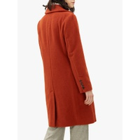 Jaeger Boucle Double Breasted Coat, Rust