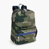 Kids' camo-print backpack