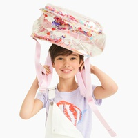 Girls' sequin shake-up backpack