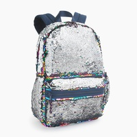 Kids' backpack with reversible sequins