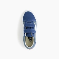 Kids' Vans® Old Skool Velcro® sneakers in chambray
