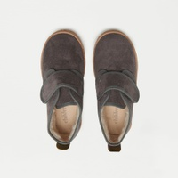 Kids' Childrenchic® suede and faux-shearling booties