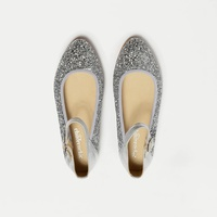 Girls' Childrenchic® Mary Janes in glitter