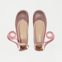 Girls' Childrenchic® lace-up ballet flats