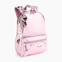 Jcrew Girls metallic backpack