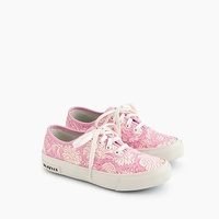 Jcrew Girls SeaVees for crewcuts sneakers in SZ Blockprints™ floral
