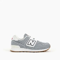 Jcrew Kids New Balance for crewcuts 574 Velcro sneakers in stripes