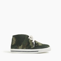 Jcrew Boys MacAlister sneakers in camo