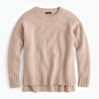 Jcrew Oversized crewneck sweater in supersoft yarn