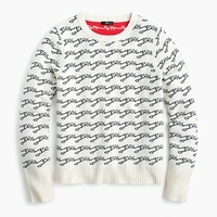 Jcrew Crewneck colorblock sweater in jacquard Yes/No