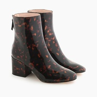 Jcrew Sadie ankle boots in tortoise