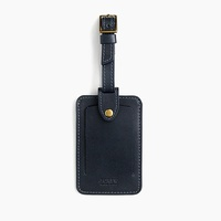 Jcrew Leather luggage tag