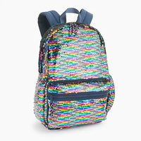 Jcrew Kids backpack with reversible sequins