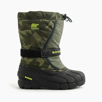 Jcrew Kids Sorel Flurry boots in camo