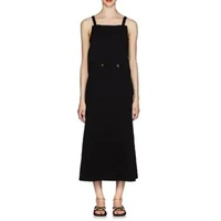 Jil Sander Double-Breasted Sleeveless Dress