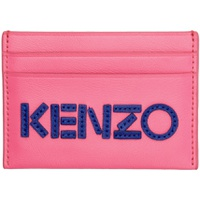 Pink Logo Card Holder