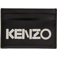 Black Logo Card Holder