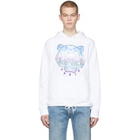 White Limited Edition Holiday Tiger Hoodie